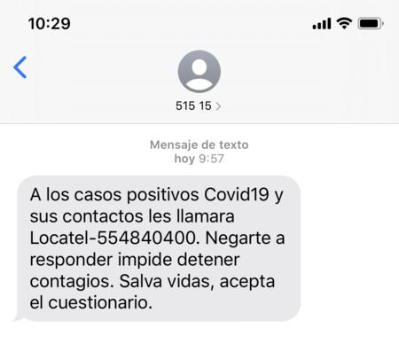 Mensaje Locatel Mexico Covid 19