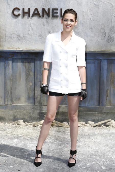 Sonrisa Kristen Stewart Chanel look