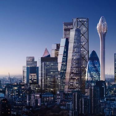 ¿Un rascacielos con forma de tulipán? Sí, ha sido diseñado por Norman Foster y estará en Londres