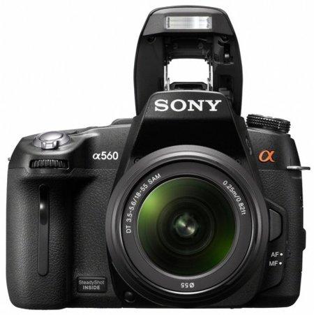 Sony A560 con grabación de vídeo