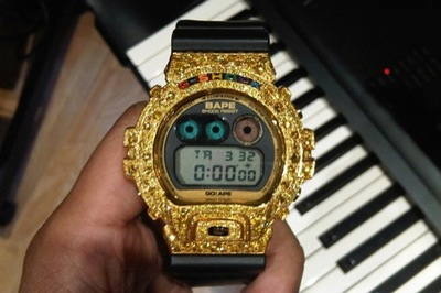 El reloj más hortera que he visto en años