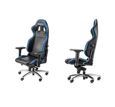 Por 150 euros podemos estrenar esta silla de oficina Sparco 00975NRAZ gracias a Amazon