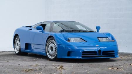 El nuevo Bugatti podría inspirarse en el mítico EB110
