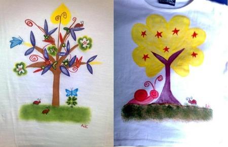 Arbolitos de colores: preciosas camisetas y mucho más