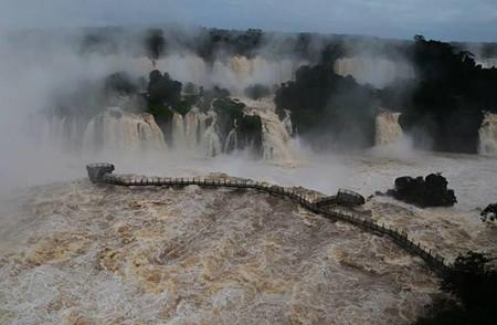 Cerrado temporalmente el acceso de visitantes a las Cataratas del Iguazú
