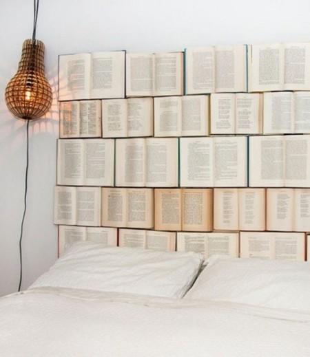 Cabecero con Libros