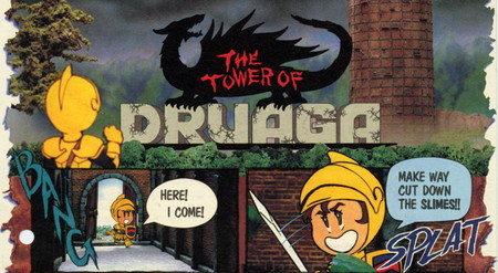 Retroanálisis de The Tower of Druaga, o cómo el espíritu de Pac-man se trasladó a un RPG