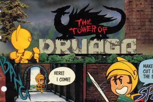 Retroanálisis de The Tower of Druaga, o cómo el espíritu de Pac-man se trasladó a un RPG