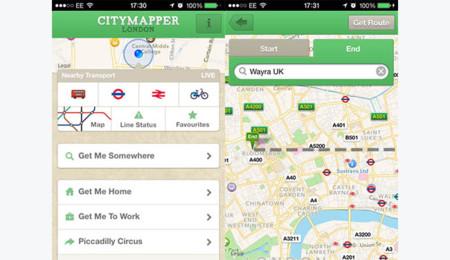 Mapas Offline Citymapper