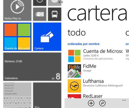 Así es la cartera de Windows Phone: cupones, tarjetas, pagos