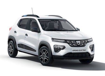 Dacia Spring Electric Renault Kwid electrico mexico 12