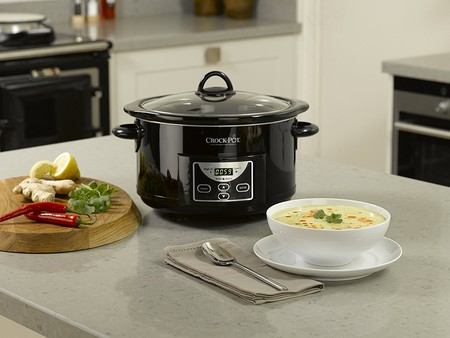 La olla de cocción lenta Crock-Pot SCCPRC507B-050 de 4,7 litros de capacidad cuesta sólo 36,80 euros en Amazon