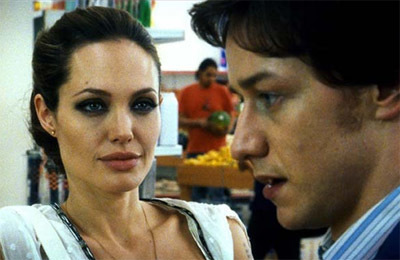 Trailer de 'Wanted' con James McAvoy, Angelina Jolie y Morgan Freeman