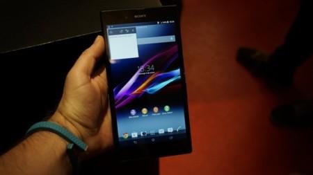 Sony Xperia Z Ultra, toma de contacto