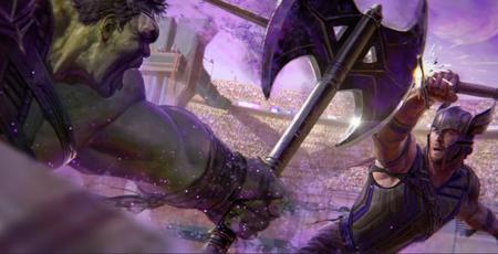 Thor 3 Ragnarok Imagen Arte Conceptual 2