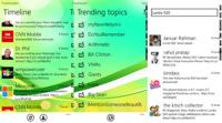 TweetReader, o cómo mantenerse al tanto de lo que se dice en Twitter sin hacerse una cuenta usando Windows Phone 7