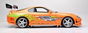 ¡Exagerado! Alguien ha pagado más de 500.000 dólares por el Toyota Supra de Paul Walker en 'The Fast and the Furious'