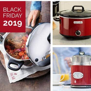 Black Friday 2019 en Amazon: mejores ofertas en robots de cocina, pequeños electrodomésticos y utensilios