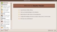 Ubuntu Tweak 0.5: nueva interfaz y más opciones