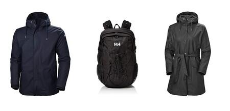 Descuentos del 30% en chaquetas, abrigos y mochilas de la marca Helly Hansen a la venta en Amazon