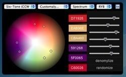 Sphere 1.0: Widget para generar colores