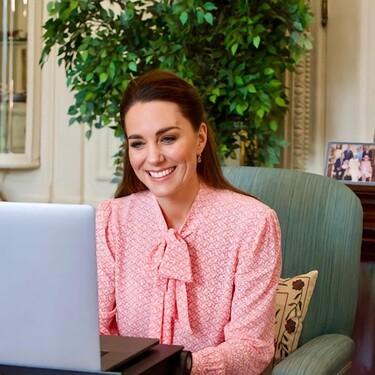 Tras la polémica entrevista del príncipe Harry y Meghan Markle, Kate Middleton reaparece con ocasión del Día Internacional de la Mujer
