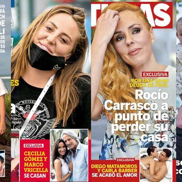 A Carla Barber y Diego Matamoros se les rompió el amor de tanto operarlo, a Rocío Carrasco 'le entran las deudas' en su casa, a punto de perderla y Rocío Flores estrena nuevo piso: estas son las portadas de la semana del 30 de septiembre