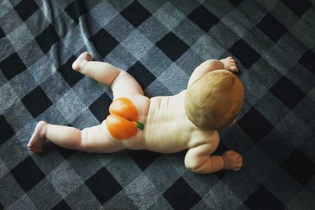 Culitos de calabaza por Halloween: la última adorable tendencia en Instagram por la que tu bebé podría denunciarte en el futuro