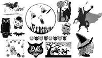 Pinceles de Halloween para Photoshop
