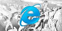 Navegar la web del 2013 en Internet Explorer 6 es un infierno