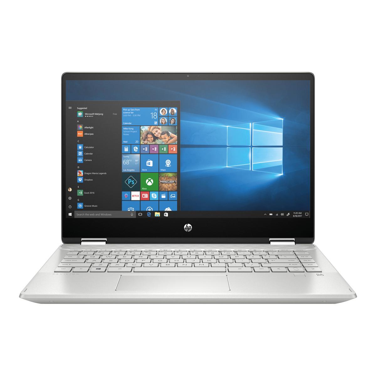 Convertible 2 en 1 HP Pavilion 14-dh1005ns x360, i7, 8 GB, 512 GB SSD, GeForce MX 250 2GB
