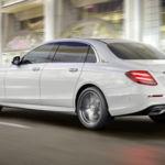 Así es el Mercedes-Benz Clase E LWB, la batalla larga que se presenta en el Salón de Pekín