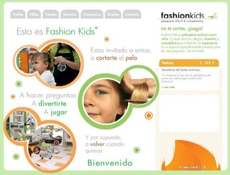 Fashionkids son peluquerías especializadas para niños