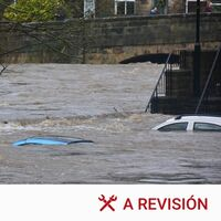Qué nos cubre el seguro del coche en caso de lluvias torrenciales y otras catástrofes