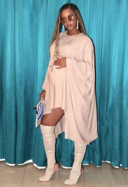 Beyoncé y las manías de un embarazo de gemelos