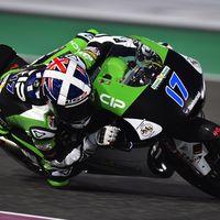 John McPhee marca el mejor tiempo de la FP2 de Moto3 en Austria y Jorge Martín se reserva