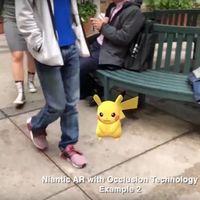 Niantic tiene nuevos trucos para su motor de realidad aumentada: Pikachu se podrá esconder entre objetos reales