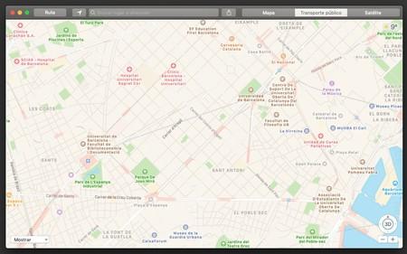 Apple Mapas Barcelona