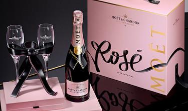 Brinda con un buen Champagne para San Valentín