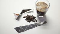 Cuchara de origami de acero inoxidable