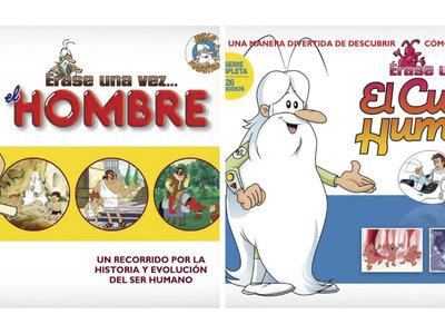 """La colección """"Érase una vez: el hombre"""" o """"Érase una vez: el cuerpo humano"""" ahora por 22,74 euros"""