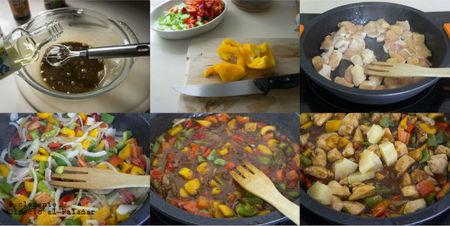 Paso a paso receta de pollo al estilo oriental