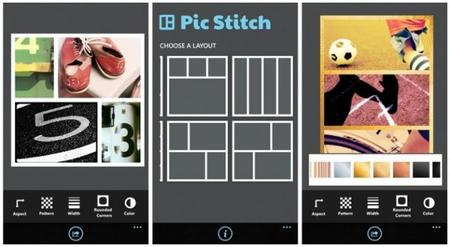 Pic Stitch, crea interesantes montajes con diversas imágenes en tu Windows Phone 8