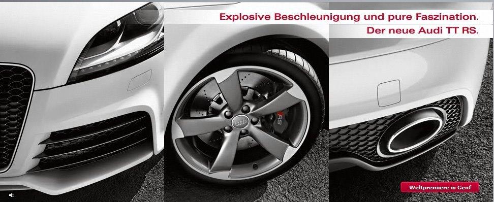 Foto de Audi TT RS, fotos oficiales (5/15)