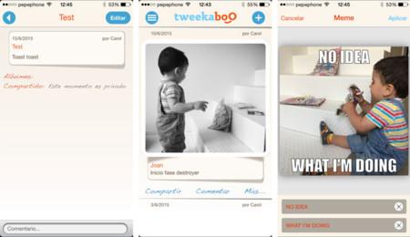 Tweekaboo iOS