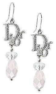 Joyería Dior (II), pendientes con cristales incrustados