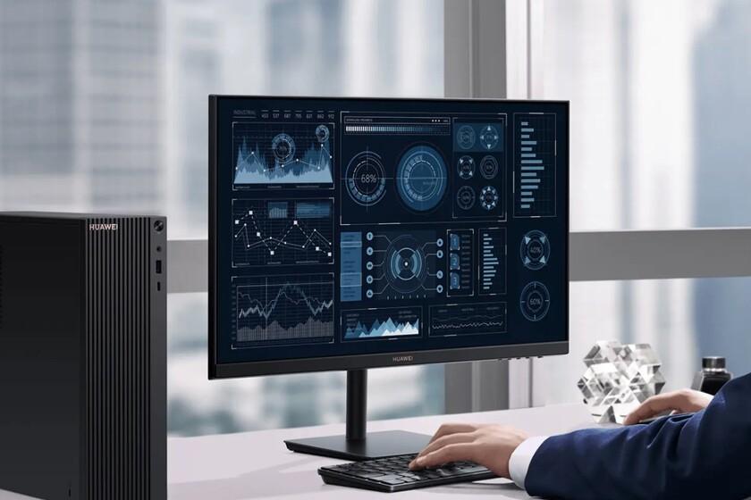 El primer PC de Huawei llega con gráficos AMD Ryzen 4000, monitor y teclado inalámbrico conectado con el móvil