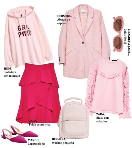 Shopping Color Rosa