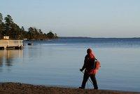 De marcha nórdica en Finlandia