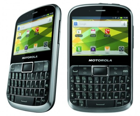 Motorola DEFY PRO ofrece resistencia y teclado QWERTY